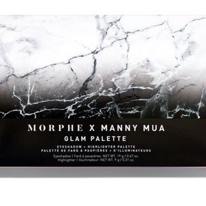 Morphe x Manny MUA Glam Palette (Brand New)